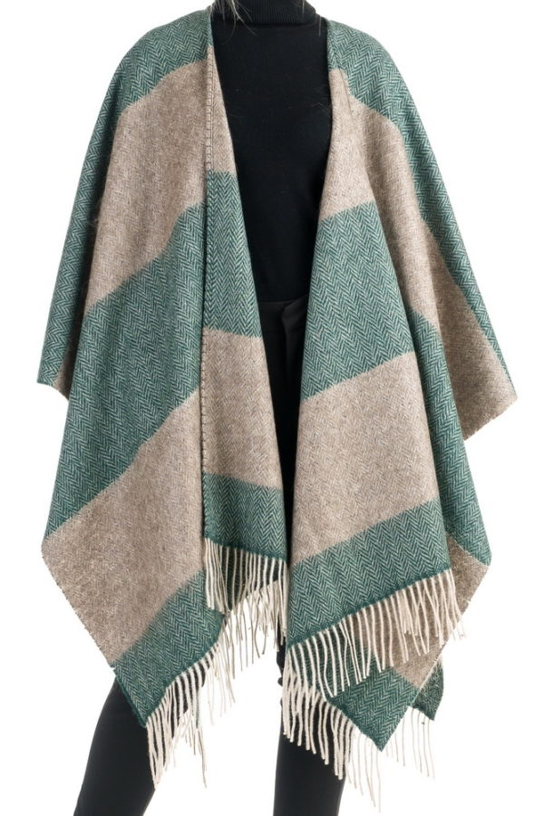 striped-mix-mohair-wool-cape